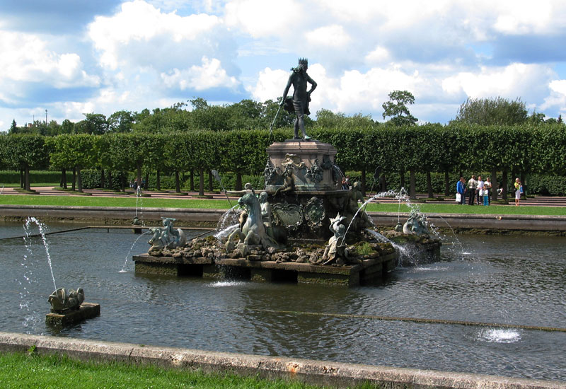 Peterhof Neptune Fountain